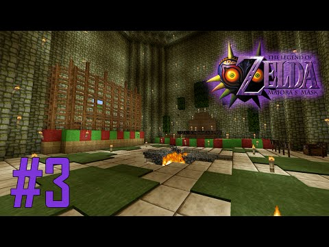 Majoras Mask Legend of Zelda Minecraft Adventure Map - Ep 3 w/Download
