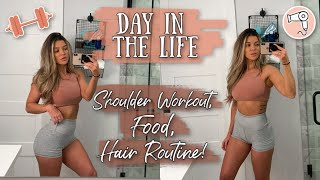 Fitness, Food, Hair Routine :) Day In The Life!!