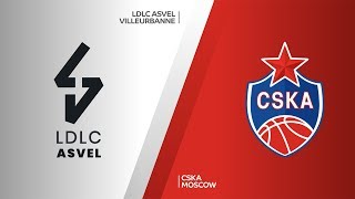 LDLC ASVEL Villeurbanne - CSKA Moscow Highlights | Turkish Airlines EuroLeague, RS Round 7