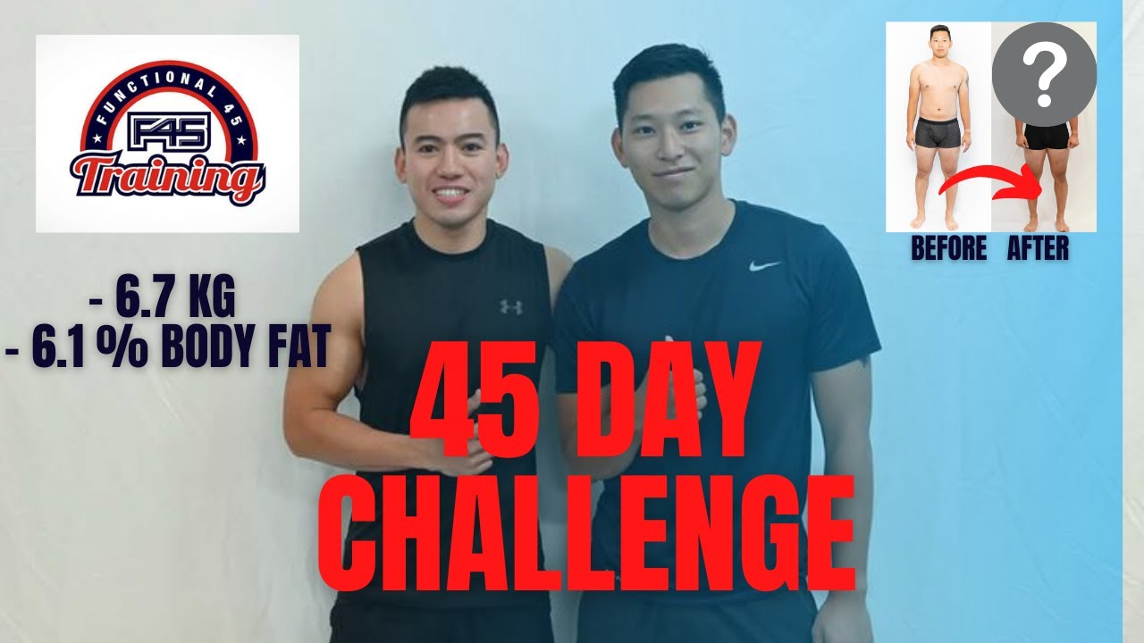WEIGHT LOSS TRANSFORMATION IN 45 DAYS / 45日間減量