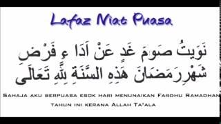 Bacaan Niat Puasa Ramadhan Dan Terjemahannya 2017 Video