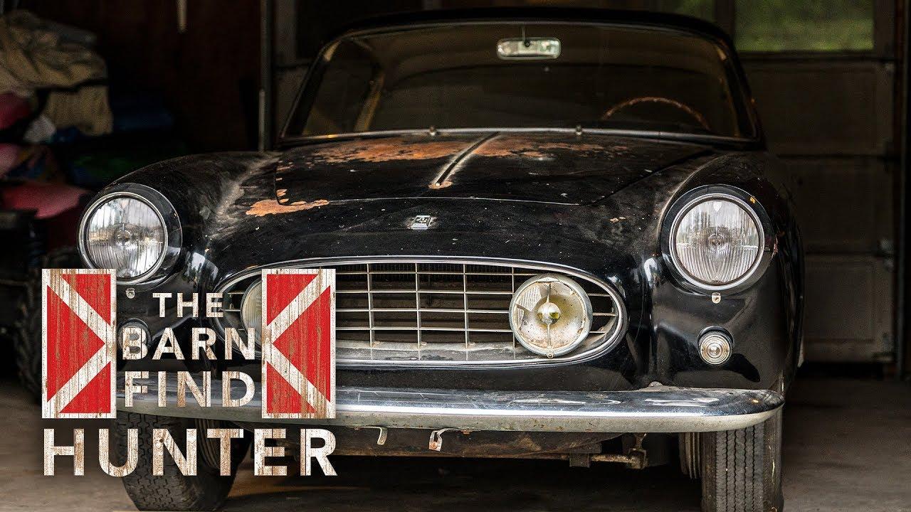 Barn Find Ferrari 250 Gt Ellena In Garage For 40 Years Barn Find Hunter Ep 23 Youtube