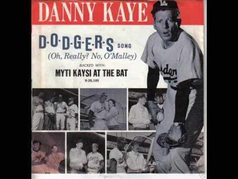 "Danny Kaye - ""D-O-D-G-E-R-S Song"" with Steve Somers"