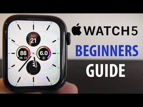 Apple Watch Series 5 – Complete Beginners Guide