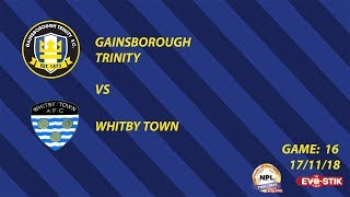 Highlights | Gainsborough Trinity vs Whitby Town | 17/11/18