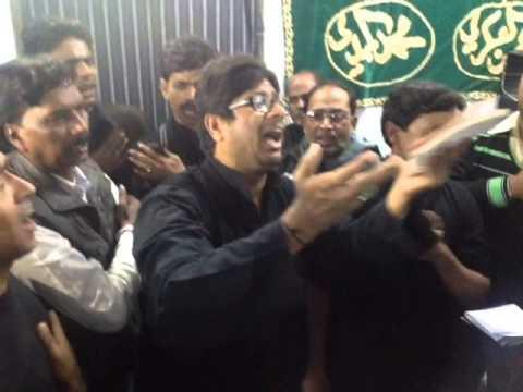 Ya Husain Alvida | Anjuman-e-Abbasia | I H Alvi, Imambara, Allahabad | 24th Moh, 29th Nov 2013