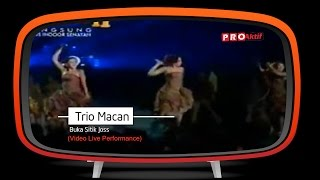 Gambar cover Trio Macan - Buka Sitik Joss (Live Performance)