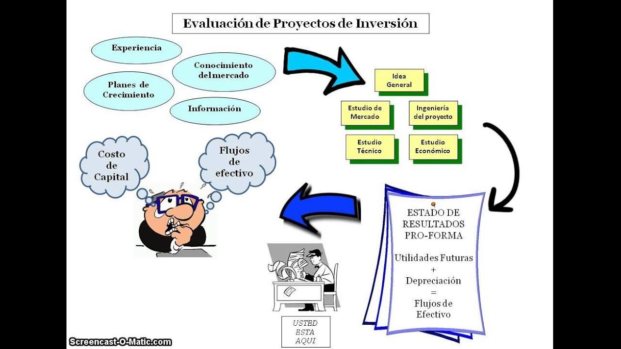 Proyectos De Inversión: Videotutorial Evaluación