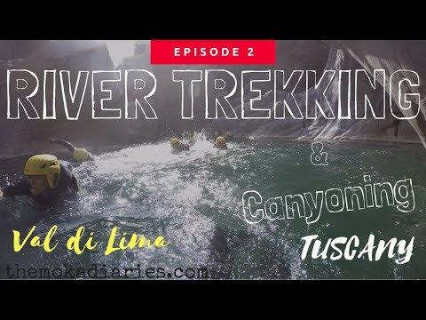 RIVER TREKKING ITALY - Val di Lima  (The Moka Diaries) GoPro Hero 4
