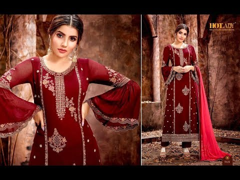 Latest Indian Dresses Collection 2019 || HOTLADY FASHION || MISHTI  5121-5127 SERIES