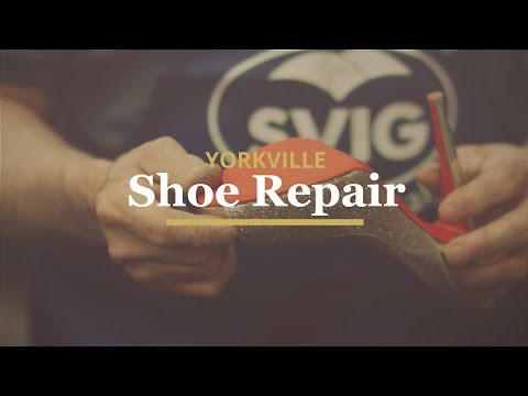 The art of shoe repair - Does it exist today?