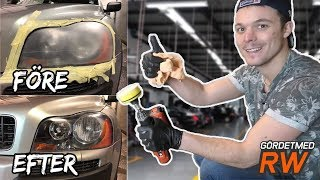 HOW TO RESTORE CAR HEADLIGHTS (DIY)
