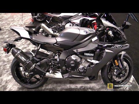download 2016 Yamaha R1 Matt Grey - Bike and Engine Cut Walkaround - 2015 AIMExpo Orlando