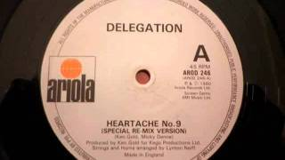 Delegation - Heartache n° 9 (version longue HQ - 1980)