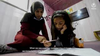 Meet the women community leaders in the Za'atari refugee camp.