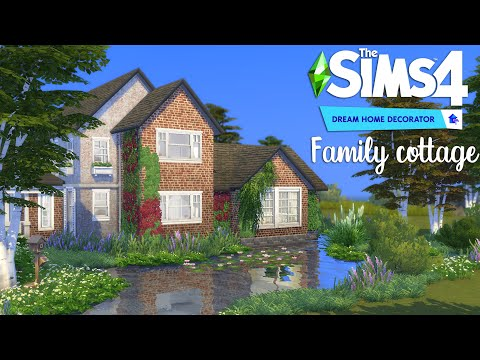 Family cottage 🏡 Dream Home Decorator | Stop Motion build | The Sims 4 | NO CC