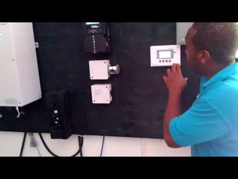 FREE ELECTRICITY OFF-GRID SOLAR IN JAMAICA #SOLAR AIR CONDIT