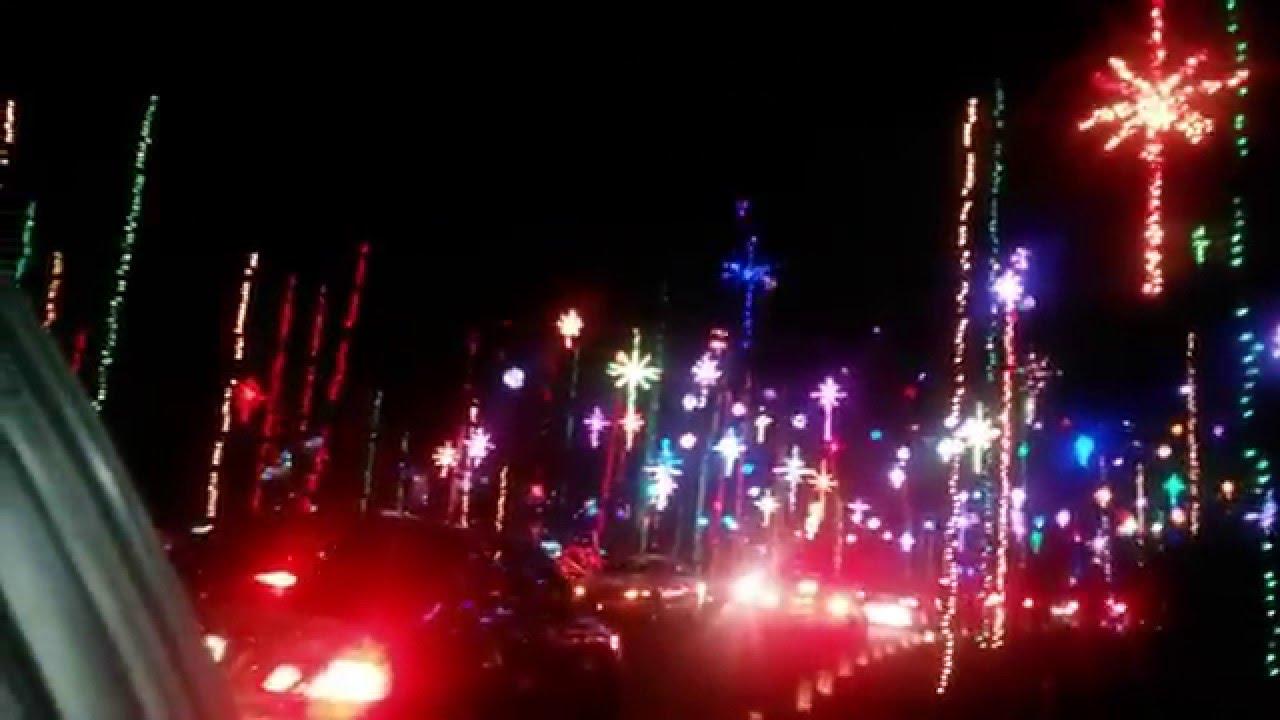 Christmas Lights near Girvin Rd. - YouTube