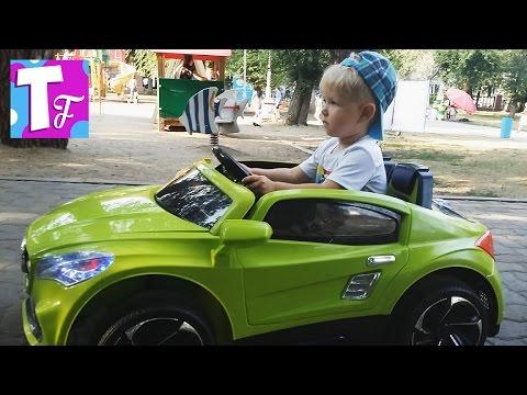 Детский ЭЛЕКТРОМОБИЛЬ с пультом управления 🚗 Electric baby car #Автомобили #Транспорт