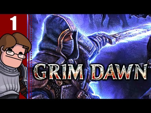 Let's Play Grim Dawn Co-op Part 1 - Hangman Jarvis