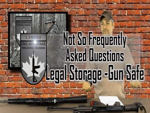 Not So FAQ - Secure Storage - Extra Info For Canadians