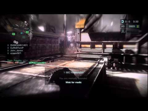Killzone 3 Online ER mawlr graveyard warzone 5172011
