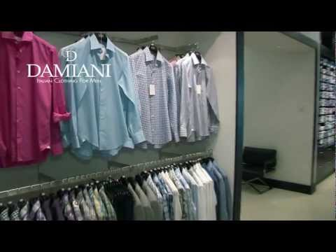 Damiani  Italian Clothing For Men Miami.mov