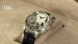 Jeff Kingston visits the workshop Jaeger-LeCoultre in Switzerland. ...