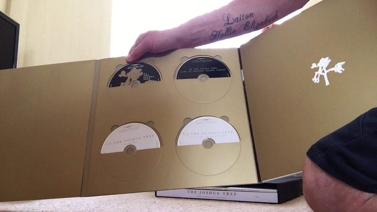 U2 Joshua Tree 30th Anniversary Super Deluxe Cd Box Set