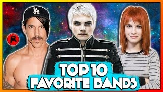 Baixar TOP 10 FAVORITE BANDS OF ALL TIME