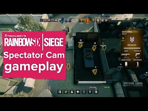 Could Rainbow Six Siege's spectator cam be used for cheating? Featuring brand new gameplay!
