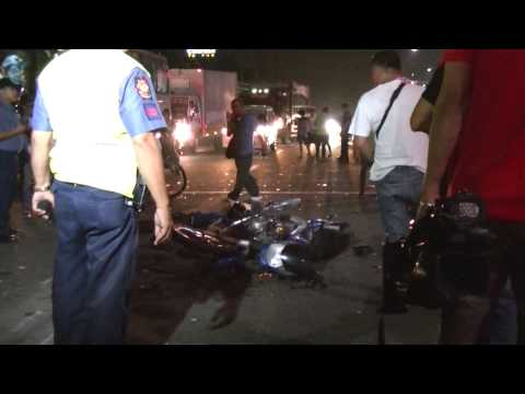 Tandang Sora, Commonwealth Intersection Fatal Mishap 11:45PM Oct. 7, 2015