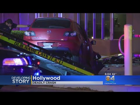 Deadly Crash In Hollywood's Young Circle