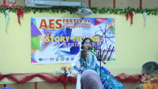 Storytelling Competition for AES Festival, 1st Place!