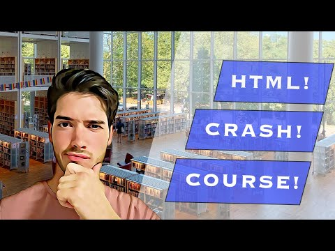 HTML Crash Course Tutorial For Absolute Beginners thumbnail
