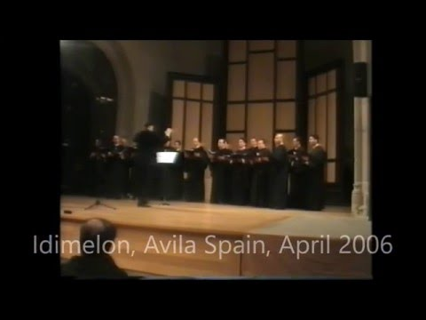 Byzantine Choir Idimelon - Avila Spain