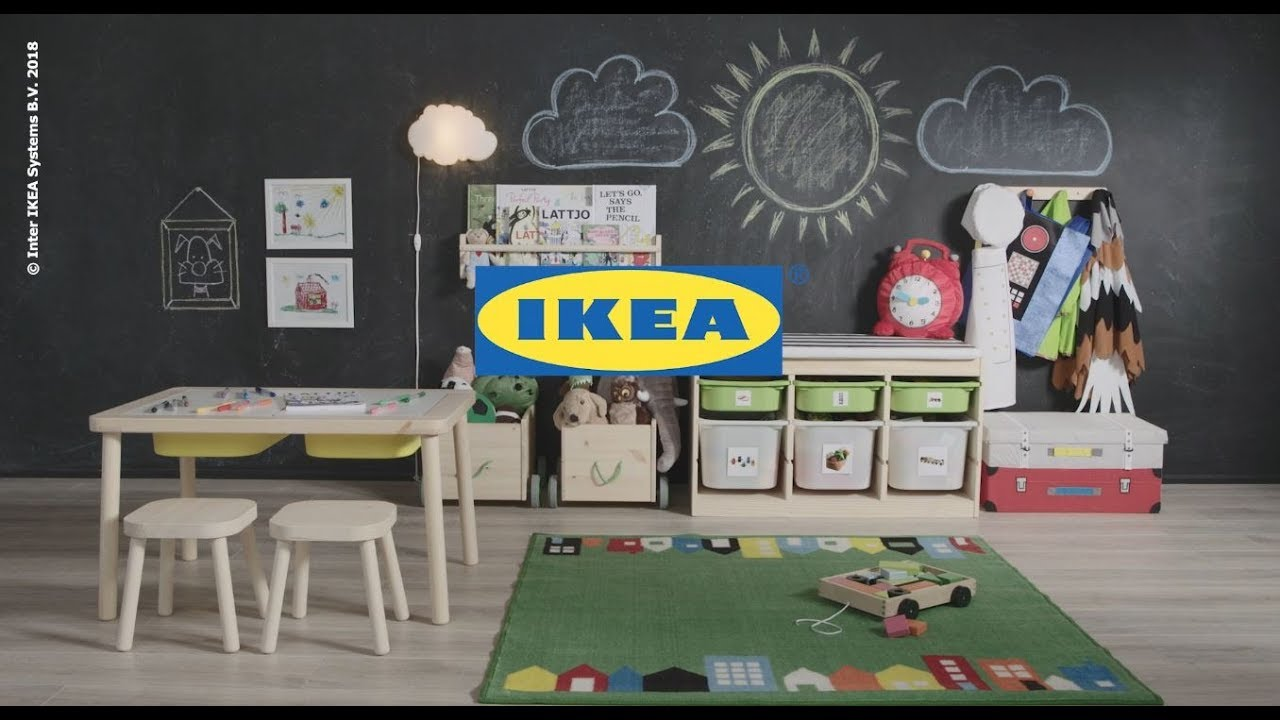 Messy Playroom Solve It In A Snap By Ikea Youtube