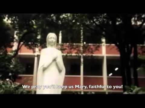 Ateneo Hymn Song For Mary with lyrics