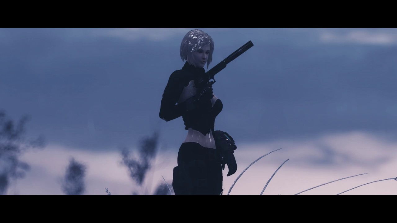 Fallout 4 Mod: Tera Rogue Armor Mod timelapse showcase