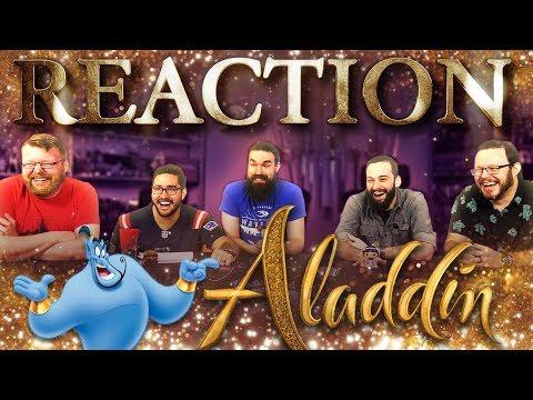 Disney's Aladdin – Official Trailer REACTION!!