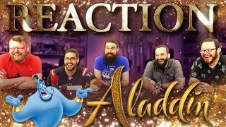 Disney's Aladdin - Official Trailer REACTION!!
