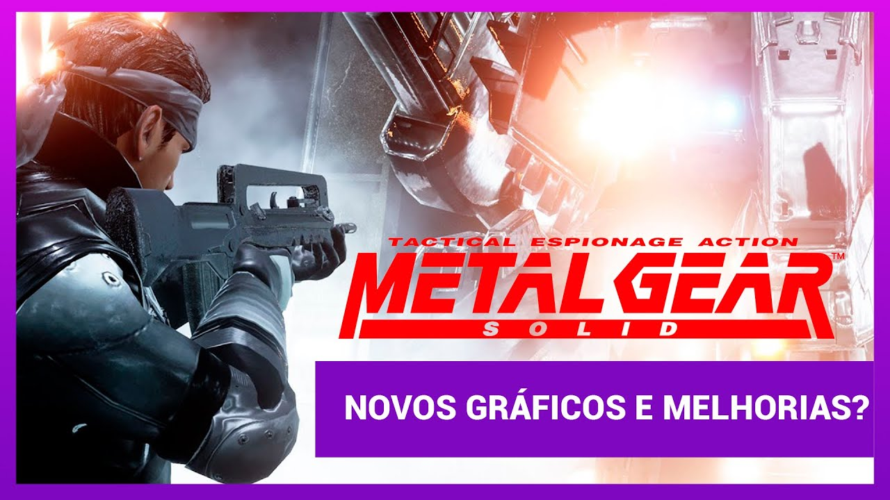 Metal Gear Solid  HD -  PC Gameplay (LANÇAMENTO)