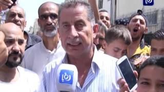 مسيرة تضامن مع الأسرى الفلسطينين في مخيم الوحدات