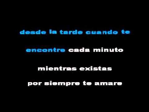 ENTRE TU Y YO OMAR enrique karaoke
