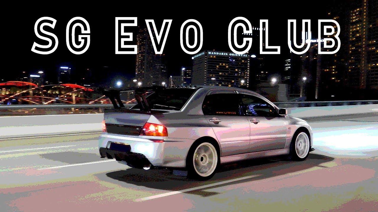 Sg Evo Club Mitsubishi Lancer Evolution Singapore Youtube