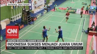 Indonesia Sukses Menjadi Juara Umum Asean School Games 2019
