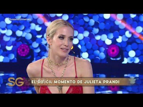 El mensaje de una mujer que hizo llorar a Julieta Prandi - Susana Giménez 2019