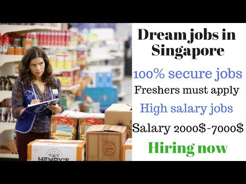 Freshers & Experiance both can Apply || Singapore jobs 2019