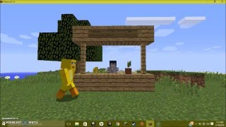 The duck song in MINECRAFT