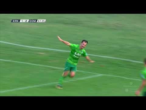 7. krog: Krško - Domžale 4:2 ; Prva liga Telekom Slovenije 2017/18